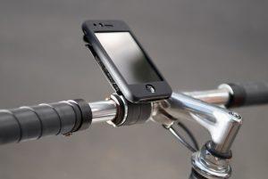 Fahrer Spitzel: iPhone Halter für Radfahrer