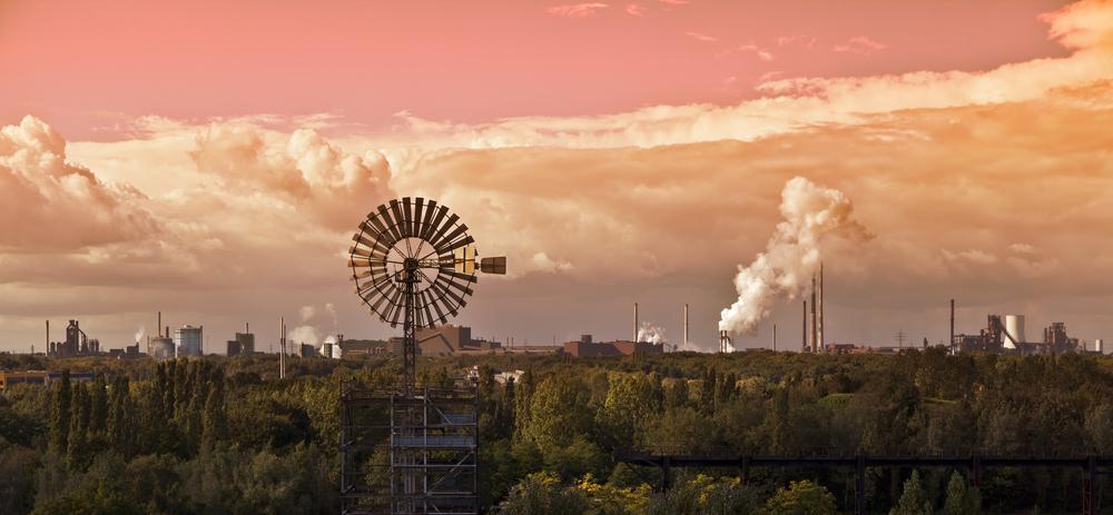 Industrieromantik bei Radtouren im Ruhrgebiet