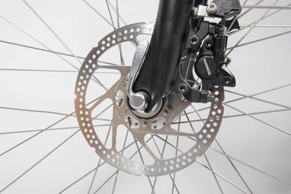 Bremsscheibe am Trekkingrad