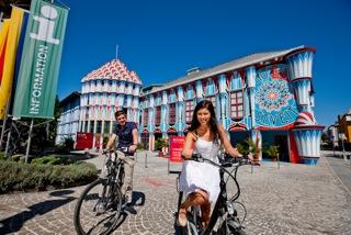 """Der Fuchspalast in St.Veit an der Glan ist Hauptverleihstelle und beherbergt  die Ausstellung """"Erlebnis Energie"""".  © Tourismusverein Mittelkärnten"""