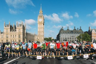 Start zum Transcontinental Race in London. Foto: PEdALED