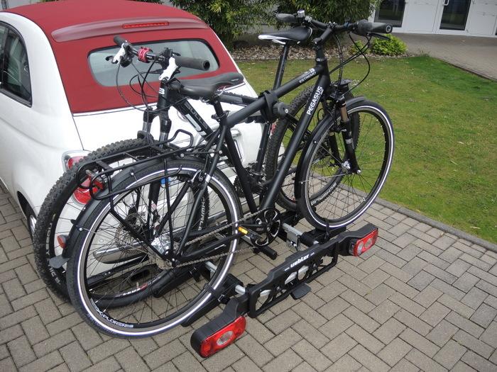 Leichter Träger auch für schwere Räder: Uebler X21 nano. Foto: Volkhausen.
