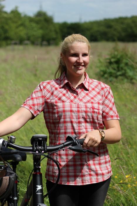 Sichtbar im Sommer: Gonso Bike-Bluse. Foto: Partzsch.