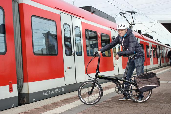 Zu(g)verlässig: Das Tern Link P24h bewährte sich im Dauertest. Foto: Dorina Volkhausen.
