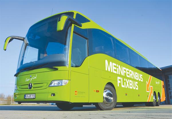 Radtransport, Fernbus