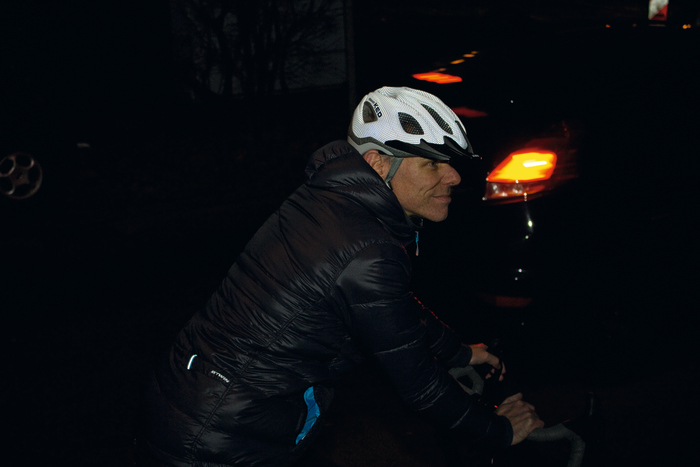 Nacht-Kopfschutz: mit dem KED Certus K-Star. Foto: Dorina Volkhausen.