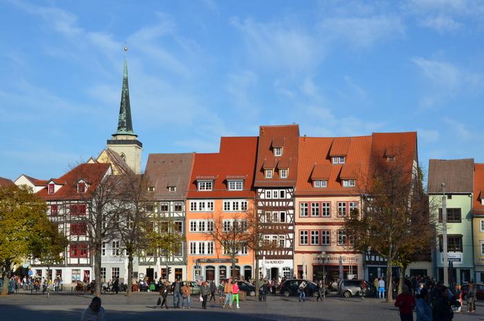 Thüringer Städtekette Erfurt Domplatz_klein