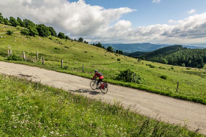 Vier-Belchen-Tour durch Deutschland, Schweiz und Frankreich. Foto: Patrick Kunkel.