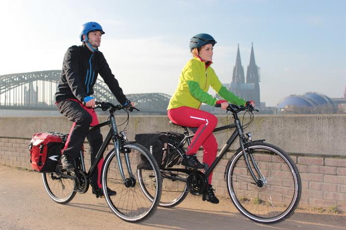Test: Trekkingräder bis 999 Euro. Foto: Partzsch.