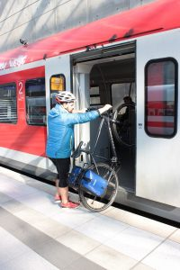 stressfreier Transport in der Bahn