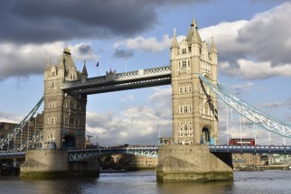 Am Ziel angekommen: die Tower Bridge in London. Foto: Thorsten Brönner.