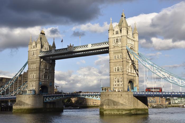 Am Ziel angekommen: die Tower Bridge in London. Foto: Thorsten Brönner.