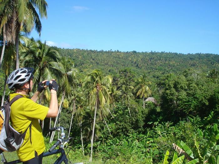 Radstrecke auf dem Weg nach Boca de Yumuri