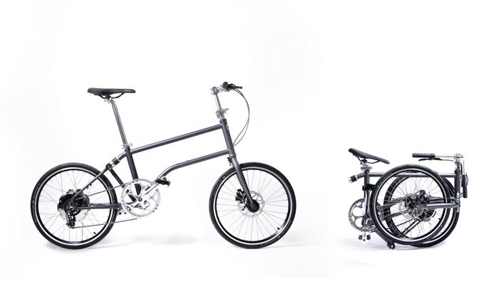 BILD zu OTS - Elektro-Faltrad