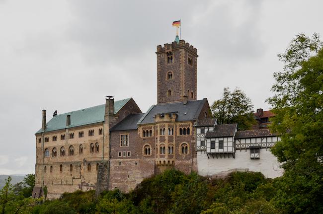 Auf der Wartburg übersetzte Luther das Neue Testament aus dem Griechischen ins Deutsche. Bild: Hans Kothe.