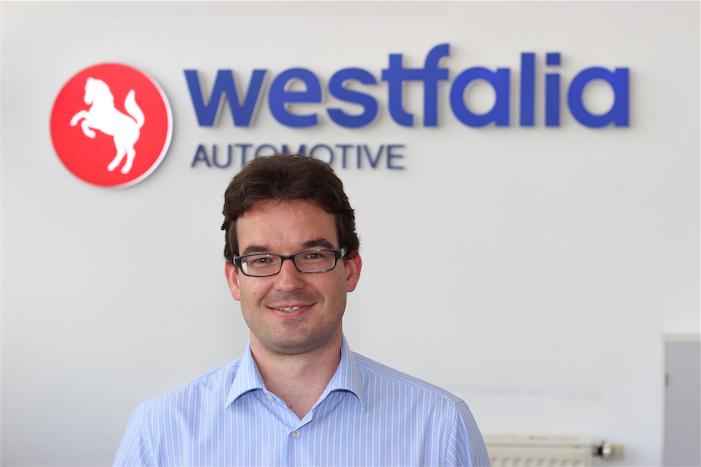 Unterstützte bei der Beantwortung der Fragen zum Nachrüsten: Stefan Brockmann von Westfalia. Bild: Gathmann