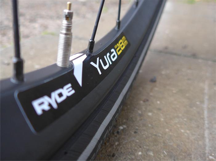 Für Breitreifen am Trekkingrad: Ryde Yura Felge mit 28 mm Maulweite. Bild: Gathmann