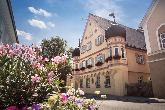 Ichenhausen, Stadt des Bayerischen Schulmuseums.
