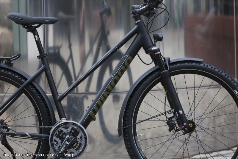 Vollausgestattetes Trekkingrad mit 27,5-Zoll-Reifen: Winora Nevada. Bild: pd-f/Winora
