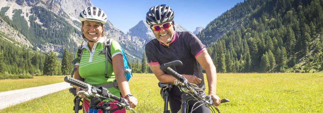 Touren in den Bergen:Durch die Alpen nach Italien
