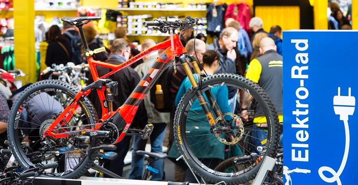 Schwerpunkt der Fahrrad Essen werden auch 2018 E-Bikes sein.