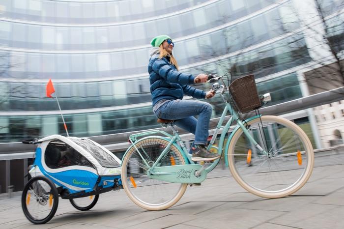 Mehr als nur ein Fahrradanhänger: Kindersportwagen von Qeridoo