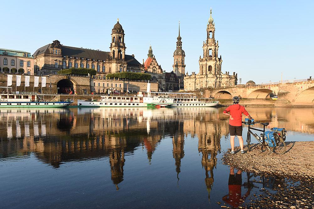 Elbe, Spree und Neiße zählen zu den beliebtesten Flussradwegen Deutschlands