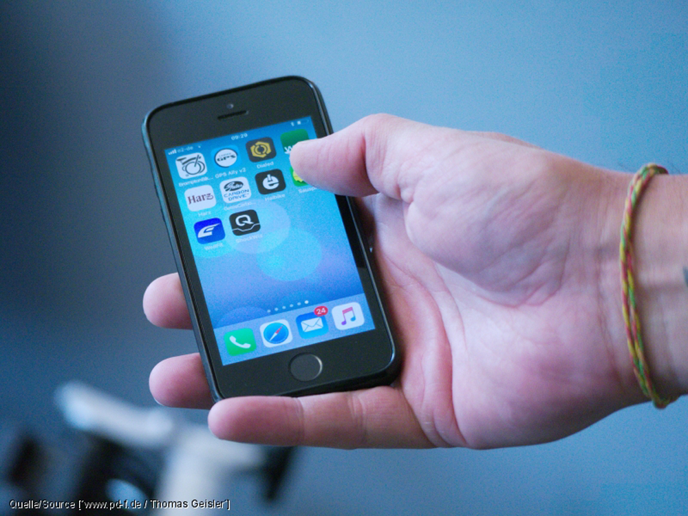 Let's go digital – Zehn Apps für Fahrradfahrer