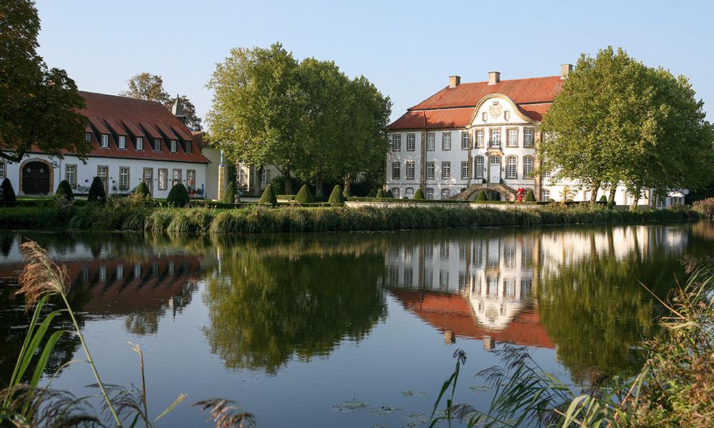 Herrschaftlich: das Barockschloss von Ketteler im Münsterland